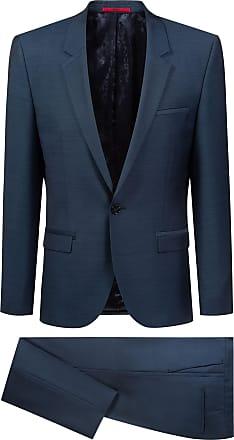 cbe9648c HUGO BOSS Extra-slim-fit tuxedo in virgin-wool micro twill
