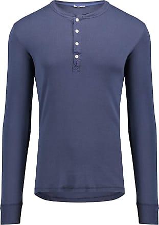 Schiesser Revival - The Original - Shirt 1/1 Karl-Heinz - Dark Blue - Blue, XL