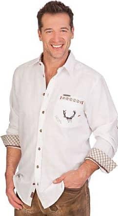 Trachtenhemd KASPAR hellgrau