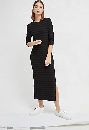 French Connection Rochelle Jersey Stripe Midi Dress