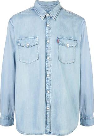 Wardrobe.NYC Camisa jeans x Levis Release 04 - Azul