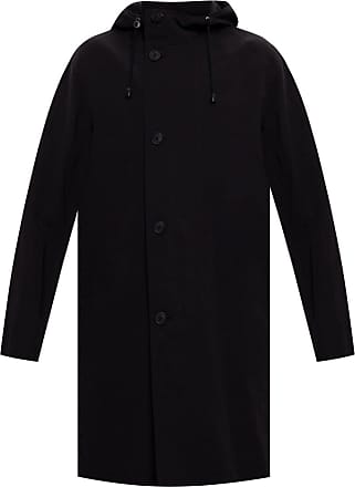 The Row Hooded Coat Mens Black