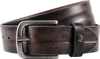 Pierre Cardin Mens leather belt//Mens belt black full grain leather belt XL