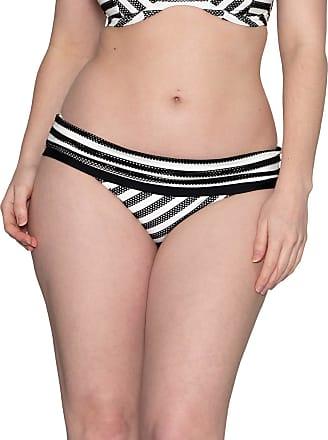 NUOVA LINEA DONNA swimwwear Curvy Kate Galaxy Slip Bikini Vita Alta CS3765 nero