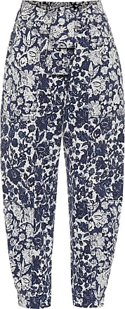 Ulla Johnson Bedruckte High-Rise Jeans Storm