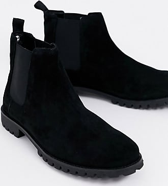 River Island chelsea boot with chunky sole in black