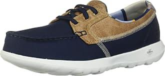 Skechers Womens GO Walk LITE Trainers, Blue (Navy Textile/Trim NVY), 5.5 UK 38.5 EU