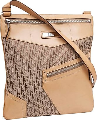774b334f09ce Dior Dior Bag In Beige Monogram Canvas And Leather