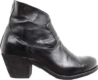 Officine Creative Womens Shoes Boots Giselle/042 Ignis T Nero Black Made Italy