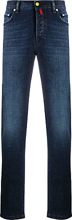Kiton straight-leg jeans - Blue