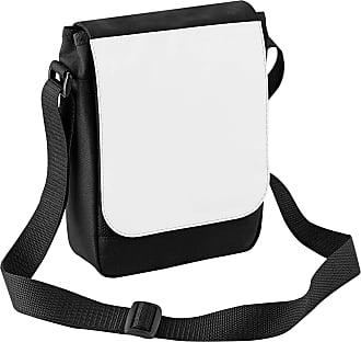 BagBase Bagbase Sublimation Digital Mini Reporter Bag (2 Litres) (One Size) (Black)
