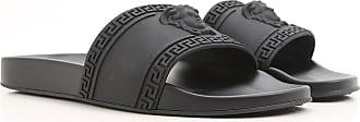 Versace Sandals for Men On Sale, Black, Rubber, 2017, 10 7.5 8