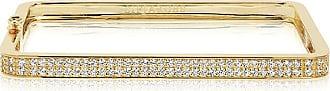 Sif Jakobs Jewellery Bangle Matera - 18k gold plated with white zirconia