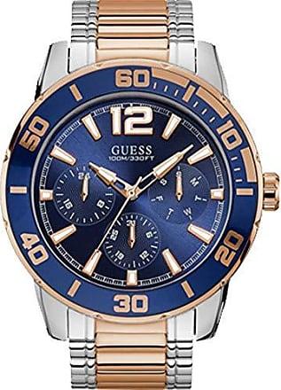 Guess Relógio Guess Masculino Bicolor 92769gpgsga1 Analógico 10 Atm Cristal Mineral Tamanho Grande