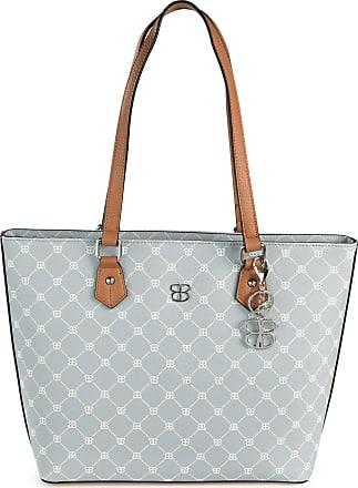 Basler Faux leather shopping bag Basler blue