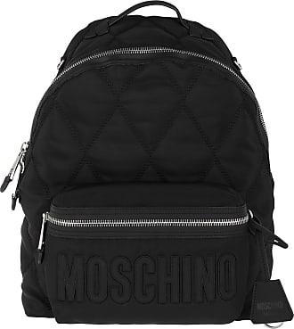 Moschino Backpacks - Logo Backpack Fantasy Print Black - black - Backpacks for ladies