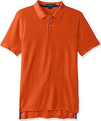 U.S.Polo Association Mens Ultimate Pique Polo, Stadium Orange, L