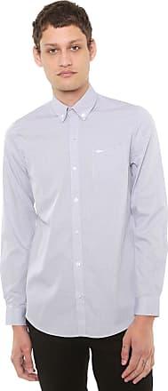 03d7bd27f0 Lacoste Camisa Lacoste Regular Padronagem Cinza