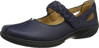 Hotter Women Shake Closed Toe Shoes, Blue (Navy), 7 UK 41 EU