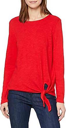 s.Oliver RED Label Damen Flammgarnshirt mit Knoten-Detail