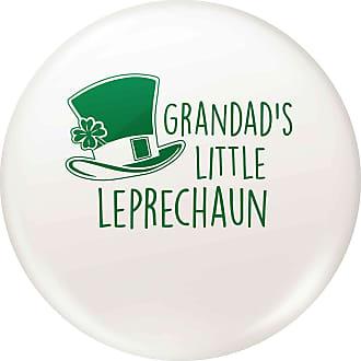 Flox Creative Small 25mm Pin Badge Grandads Little Leprechaun