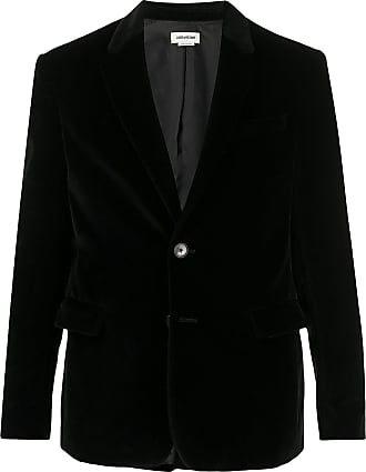 Zadig & Voltaire fitted single breasted blazer - Black