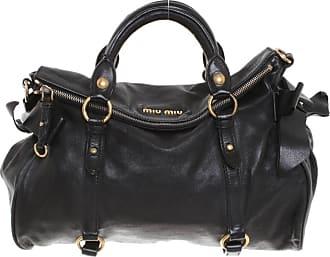 b565280e52bbc Miu Miu gebraucht - Handtasche aus Leder in Schwarz - Damen - Leder