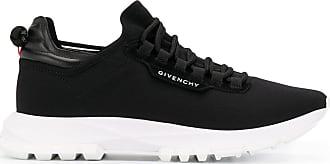 Givenchy Tênis cano baixo com cadarço - Preto