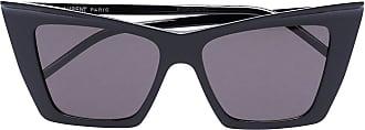Saint Laurent Eyewear Óculos de sol gatinho - Preto
