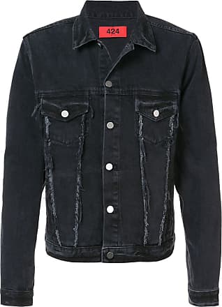 424 Trucker denim jacket - Preto