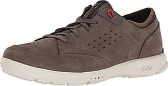 Rockport Mens Truflex Lace to Toe Sneaker, Dark Olive, 8.5 M US