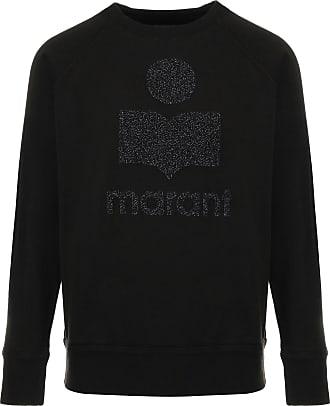 Isabel Marant Sweatshirt Milly Coton Noir Argenté