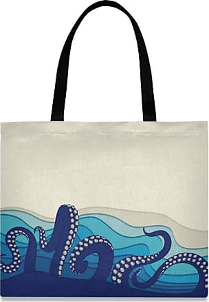 XiangHeFu Holder Pocket School Pencil Case Underwater With Octopus Tentacles Pouch High Quality Big Zipper
