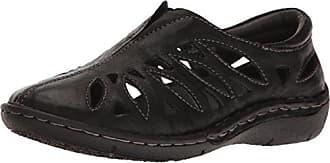 Propét Propet Womens Cameo Loafer Flat, Black, 9 Medium US
