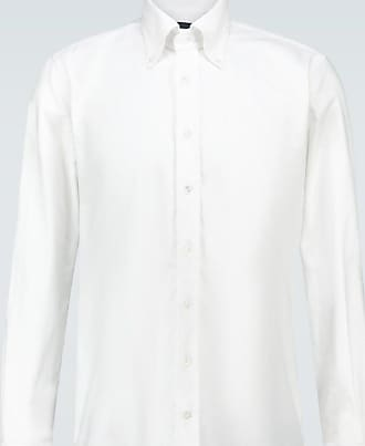 Thom Sweeney Camicia Oxford in cotone