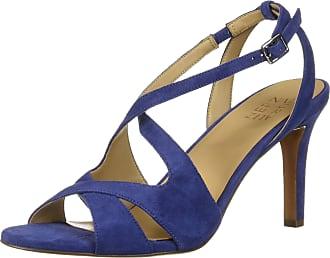 Naturalizer Womens Klein Heeled Sandal, Deep Sapphire, 6 UK