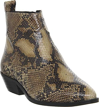 Office Addition- Low Cut Western Snake Leather - 6 UK