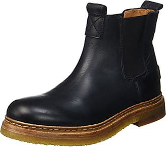 5b5503854a4 Shabbies Amsterdam Dames Chelsea Boots - zwart (zwart), maat: 39