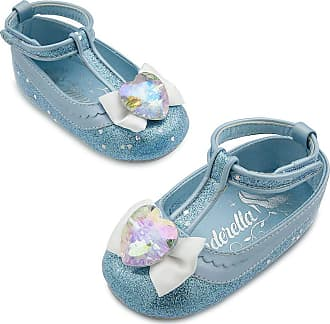 Disney Store Deluxe Cinderella Costume Shoes for Baby Girls Size 0-6 Months