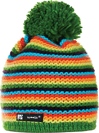 4sold Unisex Beanie Hat Woolly Winter Hats for Men and Women Hats Ski Sky Pom Pom Bobble Twister 30 Yellow
