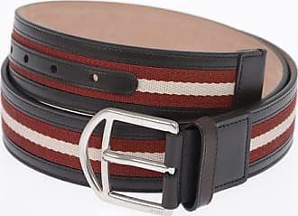 Bally Cintura in Pelle e Tessuto 40mm Größe 95