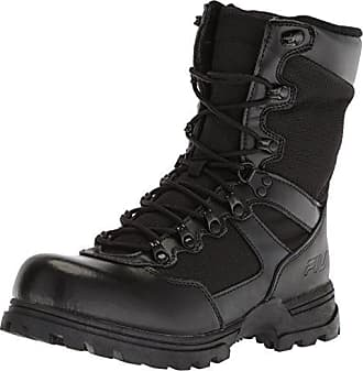 Fila Mens Stormer Military and Tactical Boot Food Service Shoe, Black, 7.5 D US