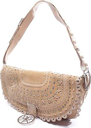 Dior gebraucht - Dior-Umhängetasche aus Leder in Beige - Damen - Leder
