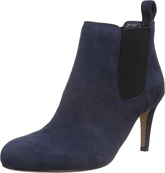 1b857da90 Clarks Womens Carlita Quinn Ankle Boots, Blue (Navy Suede), 6.5 UK