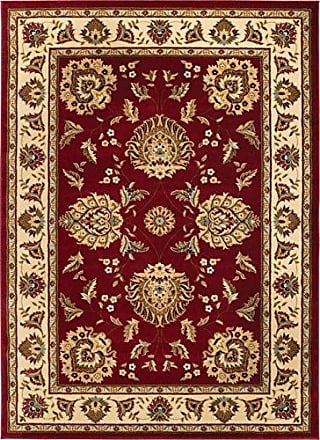 Well Woven 36006 Timeless Abbasi Traditional Persian Oriental Red Area Rug 67 x 93