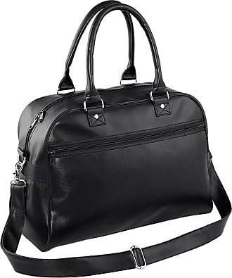 BagBase Original Retro Bowling Bag - Black/White