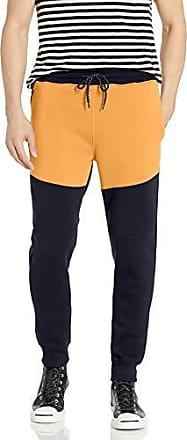 Southpole Men Active Basic Jogger Fleece Pants M New Navy