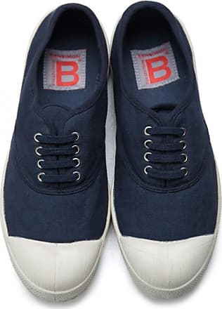 Bensimon MEN LACE TENNIS SHOES NAVY