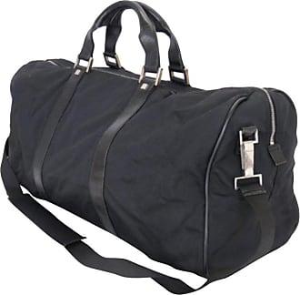 f87f1bfc90c Gucci Boston 2way Duffle 226369 Black Nylon X Leather Weekend travel Bag