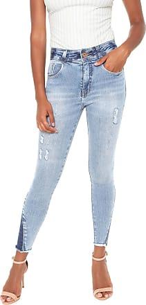 Biotipo Calça Jeans Biotipo Skinny Cropped Azul 45dfd59970e